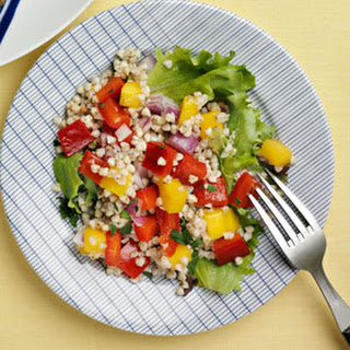 Tropical Buckwheat Salad.