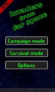 Invaders from far Space (Demo) Screenshot 1