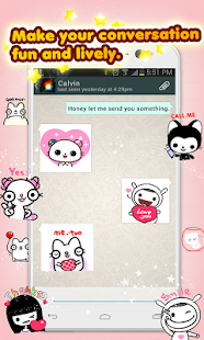 My Chat Sticker 2 W - screenshot thumbnail