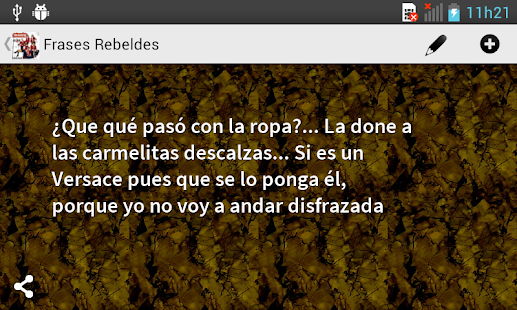 Frases Rebeldes - screenshot thumbnail