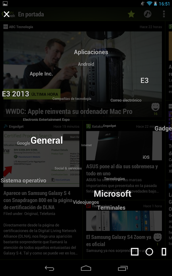 Appy Geek (español) - screenshot