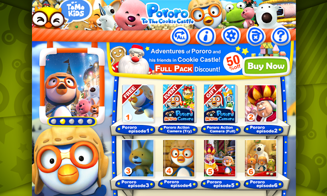 Pororo to the Cookie Castle - screenshot