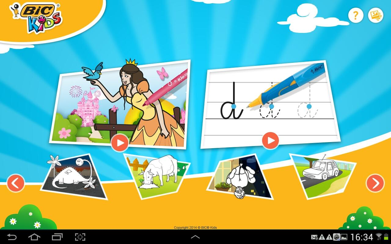 Bic®Kids Play & Color- screenshot