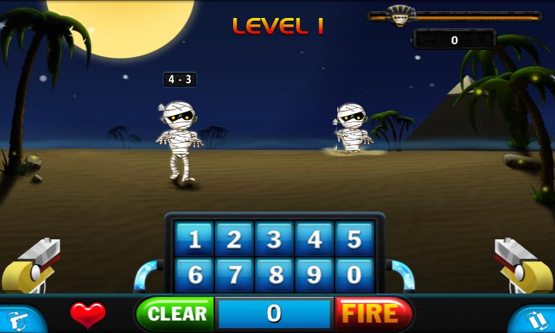 Math VS Mummies - screenshot