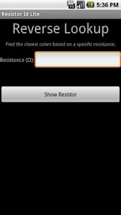 Resistor ID Lite