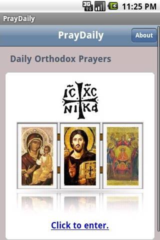 PrayDaily (Orthodox)- screenshot