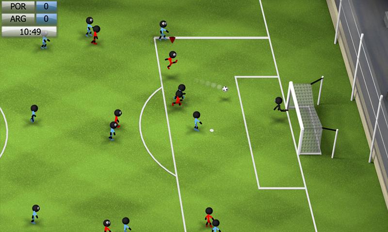 Stickman Soccer 2014 screenshot #12