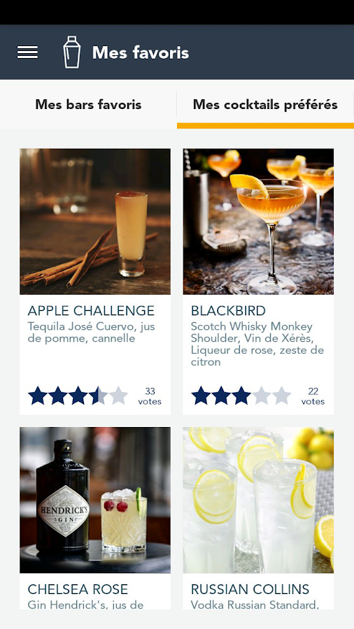 Atelier Cocktail – Capture d'écran