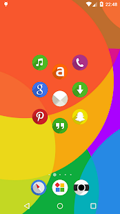 Easy Circle - icon pack Screenshot