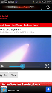 Ufo Videos - screenshot thumbnail