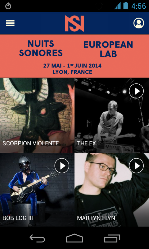 Nuits sonores & European Lab - screenshot