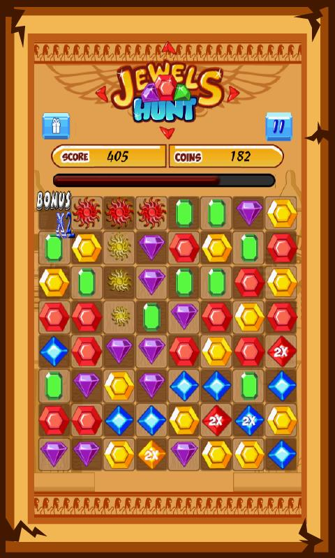 Jewels Hunt Match 3- kids game - screenshot