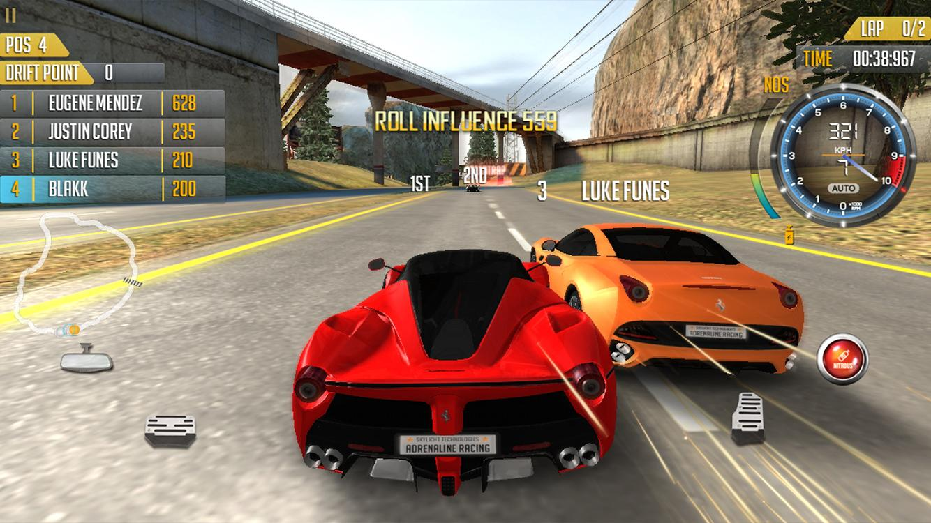 Adrenaline Racing: Hypercars - screenshot