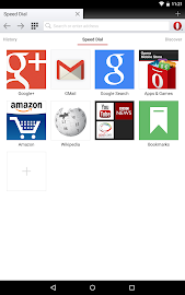Opera browser for Android Screenshot 4