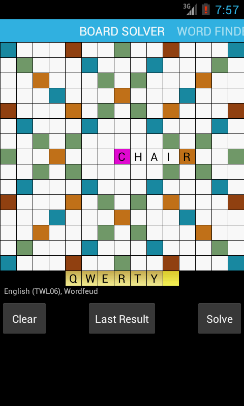 Wordleg - Word Finder - screenshot