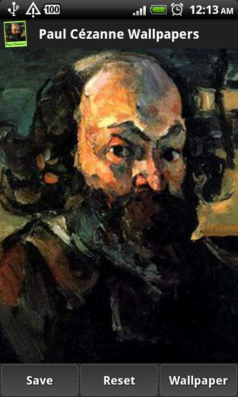 Masterpieces of Paul Cézanne - screenshot