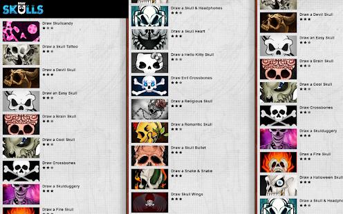玩免費教育APP|下載How to Draw Skulls app不用錢|硬是要APP