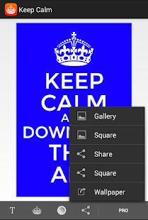 Keep Calm - screenshot thumbnail