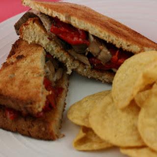 Portobello Mushroom Sandwiches CrockPot.