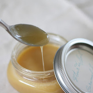 Fleur de Sel Caramel Sauce Recipe and Free Printable Label