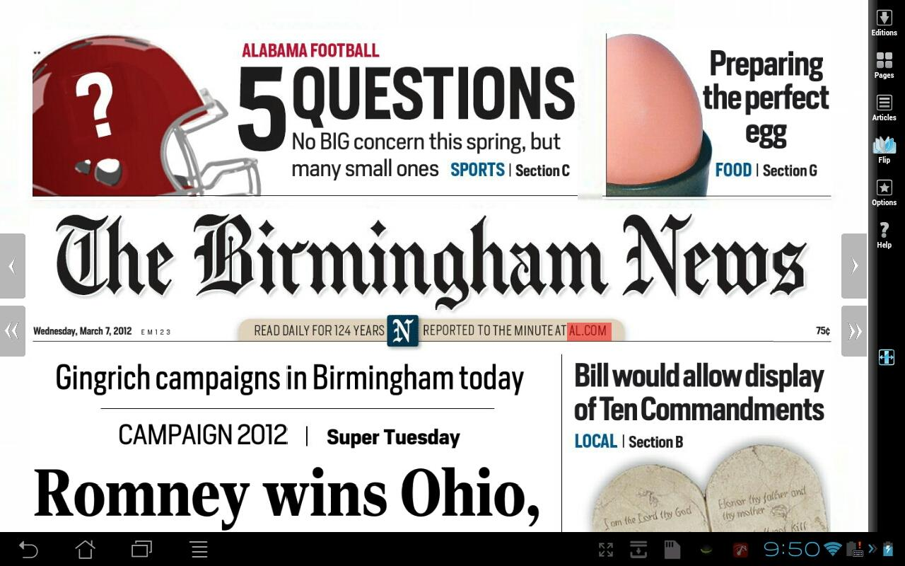 The Birmingham News - screenshot