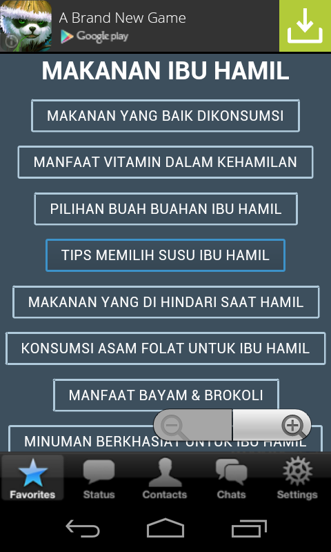 Makanan Ibu Hamil - Android Apps on Google Play