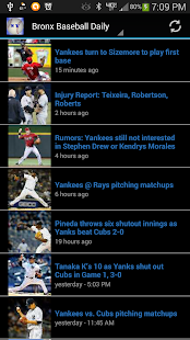 Yanks Baseball News