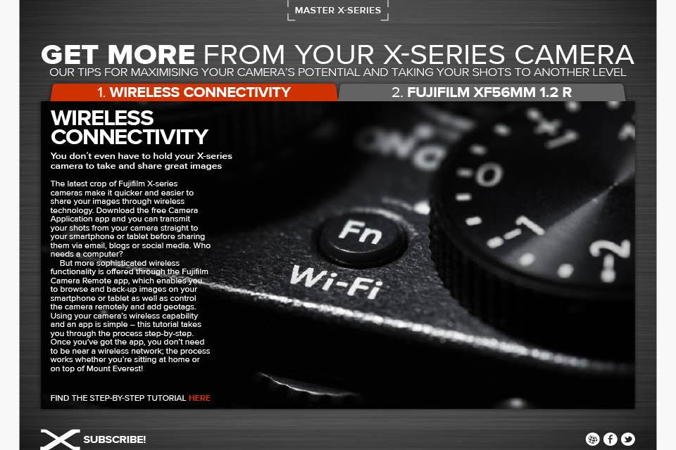Fujifilm X Magazine- screenshot