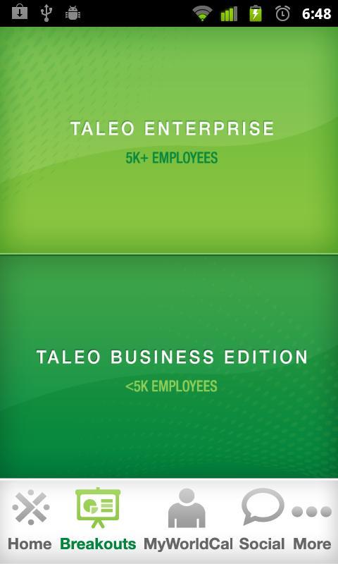 TaleoWorld 2011- screenshot