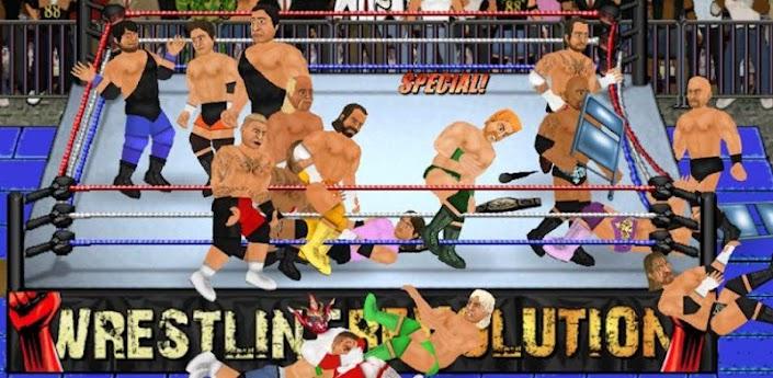 Wrestling Revolution (PPV) wwe v1 17 Apk Download Free