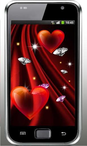 Diamonds n Hearts 3D LWP