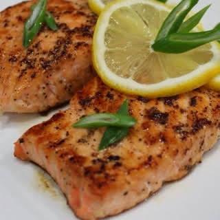Grilled Salmon Fillet.