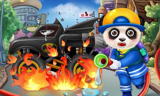 Panda Fireman - Kids Rescue