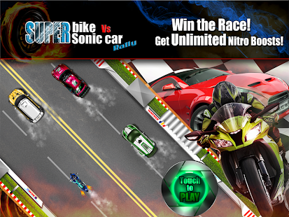 Superbike Vs Super Sonic Car - screenshot thumbnail
