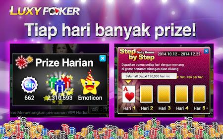 Poker: Luxy Poker Texas Holdem 1.2.2 screenshot 227158