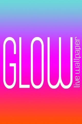 Glow Live Wallpaper - screenshot