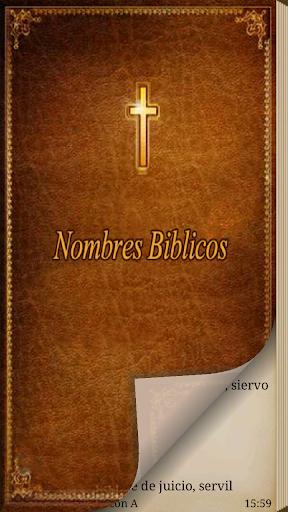 Nombres Biblicos