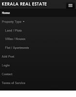 Screenshot of Kerala Real Estate