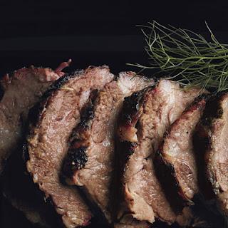 Braised Pork Shoulder with Potato Fennel Puree.