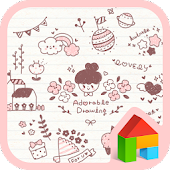 adorable drawing dodol theme