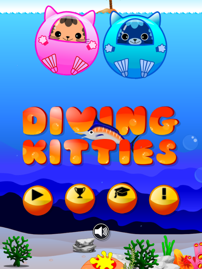 Diving Kitties- screenshot