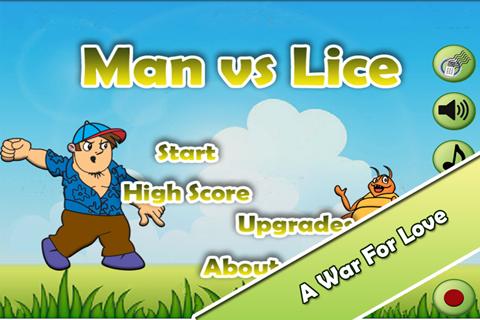 【免費街機App】Funny Game - Man vs Lice PRO-APP點子