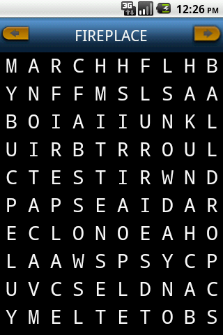 Word Search Pro - screenshot