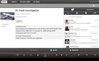 Screenshot of Telefunken Smart Center