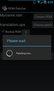 ROM Patcher- screenshot thumbnail