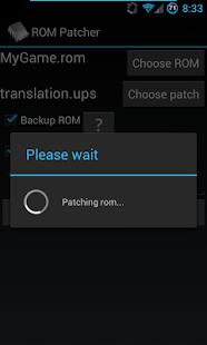 ROM Patcher - screenshot thumbnail