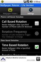 Screenshot of Wallpaper Rotator Lite
