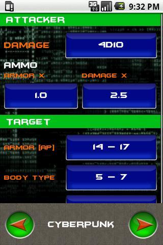 Cyberpunk Dice Pack- screenshot