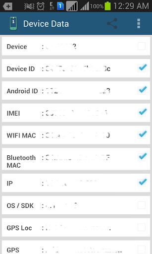 Device Data