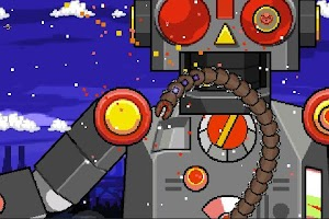 Screenshot of Super Mega Worm Vs Santa 2